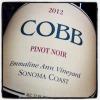 Cobb 'Emmaline Ann' Sonoma Coast Pinot Noir 2012 (750ML)