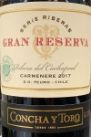 Concha y Toro Carmenere Peumo Serie Riberas Gran Reserva 2018 (750ml)