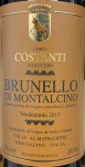 Conti Costanti Brunello di Montalcino 2015 (375ML)