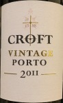 Croft Vintage Porto 2011 (750ML) - WS97