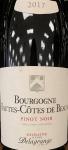 Domaine Delagrange Hautes Cotes de Beaune Rouge 2020