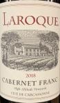Domaine Laroque Cite de Carcassonne IGP Cabernet Franc 2019 (750ml)