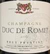 Duc de Romet Brut Prestige Champagne NV (750ml)