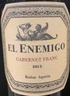 El Enemigo Mendoza Cabernet Franc 2015 (750ml)