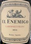 El Enemigo Mendoza Cabernet Franc 2017 (750ml)
