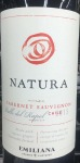 "Emiliana ""Natura"" Cab Sauv Casablanca Valley Organic 2015 (750ML)"
