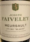 Faiveley Meursault Blagny 1er Cru 2015 (750ml) Vinous Media 90pts