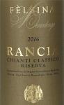 Felsina Chianti Classico Rancia Riserva 2016 (750ml)