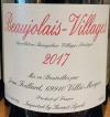 Domaine Foillard Beaujolais Villages 2018 (.750)