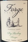 Forge Cellars Dry Riesling Classique Finger Lakes 2018 (750ml)