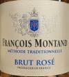 Francois Montand Brut Rose NV (750ml)