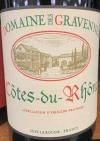 Domaine des Gravennes Cotes du Rhone 2018 (750ml)