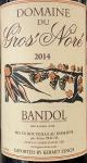 Domaine du Gros Nore Bandol Rouge 2014- (750ml)