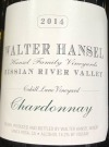 Walter Hansel Cahill Lane Russian River Valley Chardonnay 2016 (750ml)