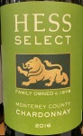 Hess 'Select' Chardonnay Monterey 2018 (750ml)