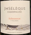 JM Seleque Solessence 7 Villages Extra Brut NV (750ml)