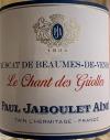 Paul Jaboulet Aine Muscat Beaumes de Venise Le Chant des Griolles 2018 (375ml)