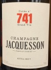 Jacquesson Cuvee 741 Extra Brut Champagne NV (750ML)