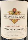 Kendall-Jackson 'Vintner's Reserve' Cab. Sauvignon Sonoma 2017  (750ml)