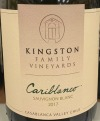 Kingston Family Vineyards Cariblanco Sauvignon Blanc 2017 (750ml)