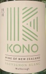 Kono Sauvingon Blanc Malborough 2018 - 89pts  (750ML)
