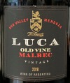 Luca Malbec Uco Valley Mendoza 2016 (750ml)