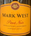 Mark West Pinot Noir California 2017(750ml)