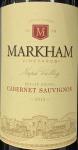 Markham Cabernet Sauvignon Napa Valley 2015 (750ML)
