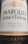 """Concha y Toro """"Marques de Casa Concha"""" Maipo Valley Merlot 2015(750ML)"""