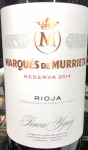 Marques de Murrieta Reserva Rioja 2014 - (750ml)