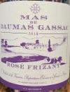 Mas de Daumas Gassac Rose Frizzante Languedoc Roussillon 2018 (750ml)