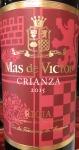 Mas de Victor Crianza Rioja 2015 (750ml)
