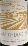 Matthiasson Napa Valley Chardonnay Village 2019 (750ml)