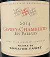 Maume by Domaine Tawse Gevrey Chambertin 'En Pallud' 2014 (750ml) Vinous Media 89-91