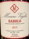 Mauro Veglio Barolo 2015 (750ml)