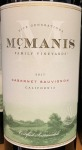 McManis Cabernet Sauvignon California 2017 (750ml)