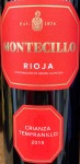 Montecillo Rioja Crianza Red 2016 (750ML)