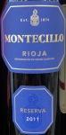 Montecillo Reserva Rioja 2011 (750ml)