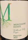 Montinore Pinot Gris Willamette Valley  2018 (750ml)