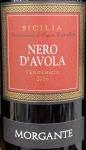 Morgante IGT Sicily Nero d'Avola 2016(750ML)