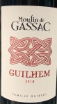 Moulin de Gassac Guilhem Rouge 2018 (.750L)