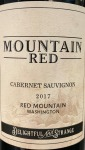 Mountain Red Washington State Cabernet Sauvignon 2017 (750ml)