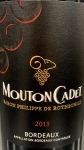 Mouton-Cadet Bordeaux Red 2016 (750ml)