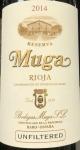 Muga Unfiltered Reserva Rioja 2014 (750ml)