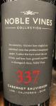 Noble Vines 337 Cabernet Sauvignon 2016 (750L)