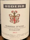 Oddero Barbera d'Alba Superiore 2016 (750ml)