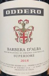 Oddero Barbera d'Alba Superiore 2018 (750ml)