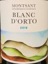 Orto Vins Blanc d' Orto Montsant 2016 (750ml)