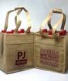 PJ Wine Reusable 6 Bottles Wine Bag