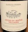 Perrin et Fils Cotes du Rhone-Villages 2018 (750ML)